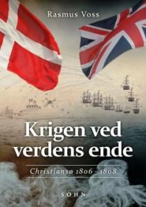 """foto af bogen """"Krigen ved verdens ende"""" af Rasmus Voss"""